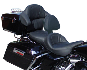 Shown with Driver Backrest