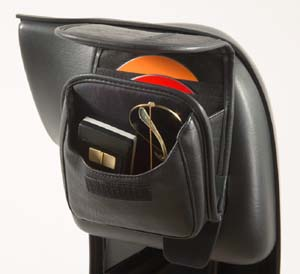 Glove Box CD Storage Pouch