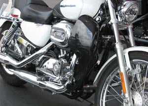 ALH-B Shown on Sportster Model