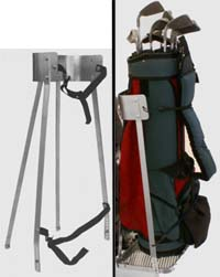 Carry golfs clubs and other items...