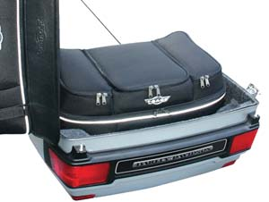 Liner Bag and Luggage Rack Bag in one!
