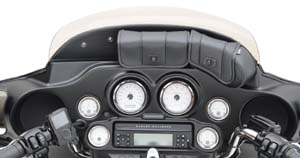 To mount H-D Accessory or GPS Mount