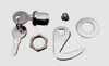 Early model saddlebag lock & hook kit