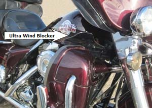 Stop 75% of wind between Lower & Fairing!