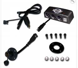 12Volt Power Sockets, 2 USB Ports and SAE Plug