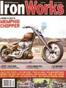 Ultra Brace TB-3 in Iron Works Magazine, April 2011