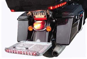 Shown on Project Rushmore Electra Glide